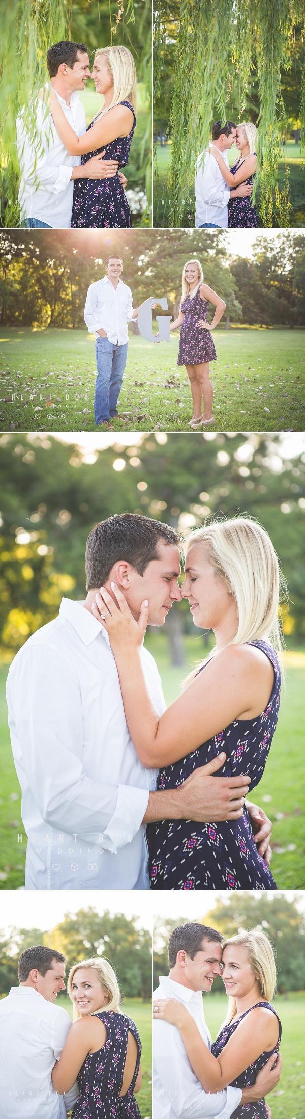 White Rock Lake Engagement Photography