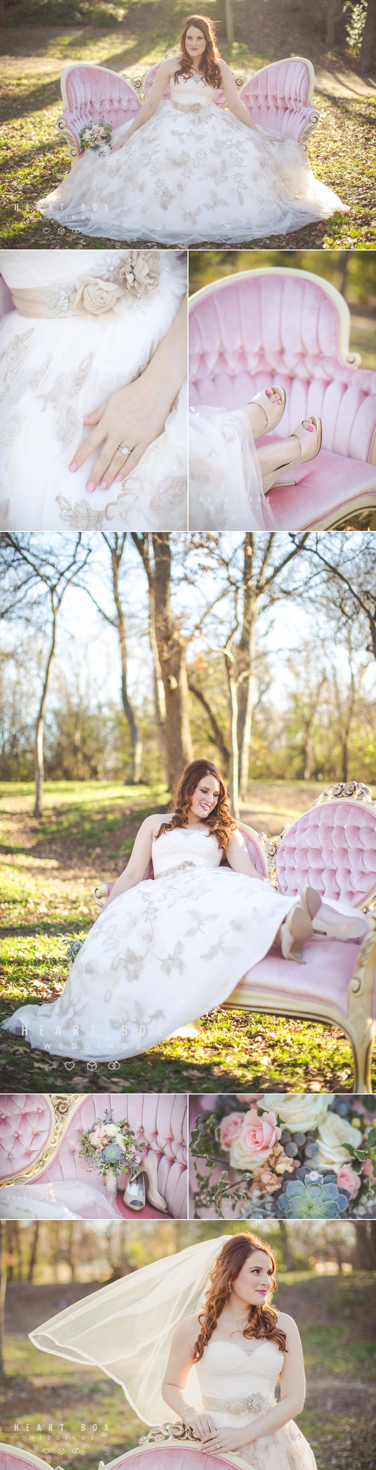 Grapevine Bridal Photography