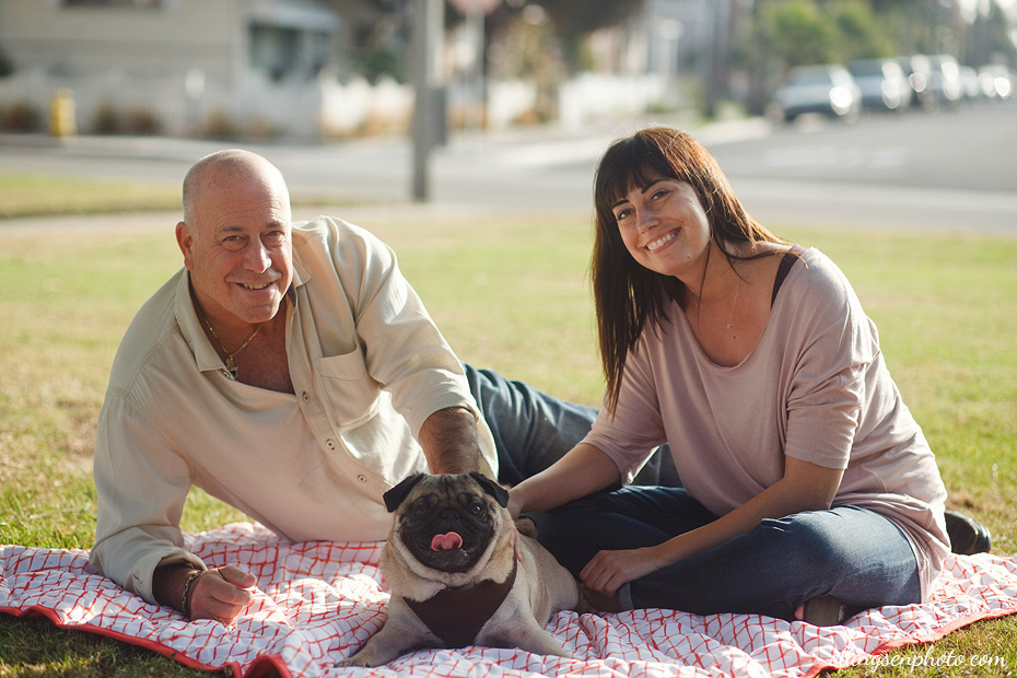 Rachel & Rocky Seal Beach Dog Photography