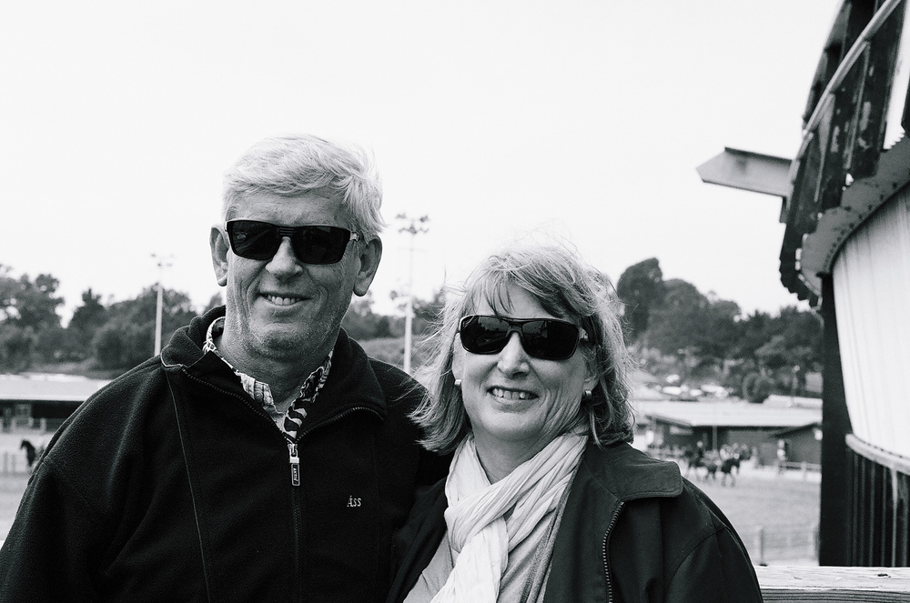 Ellingsen Photography Santa Barbara Day Trip Ilford B&W Film Mom & Dad