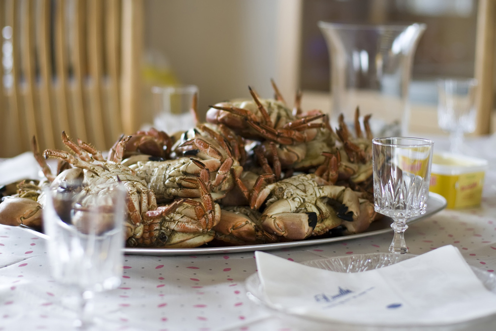 Ellingsen Photography Norway Crab Dinner