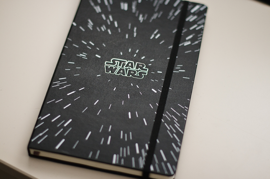 Ellingsen Photography 10 Things Star Wars Moleskine