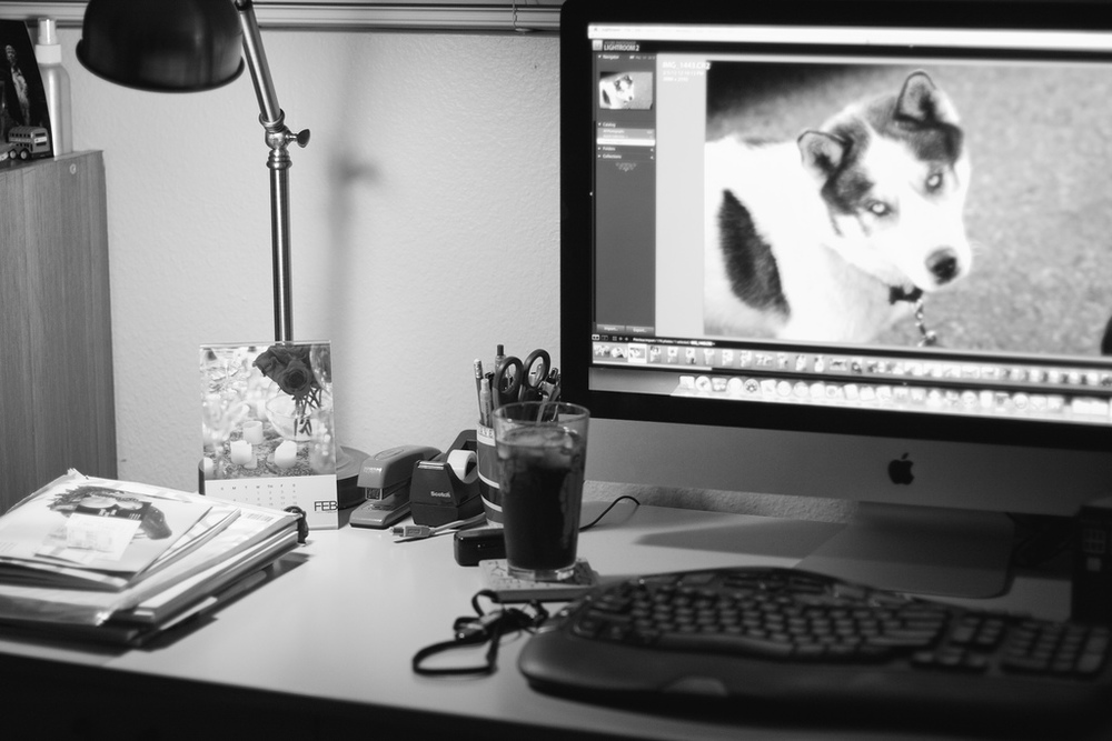 Ellingsen Photography Messy Desk