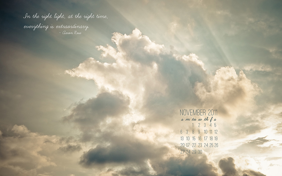 Ellingsen Photography November 2011 Desktop Background Freebie-Preview