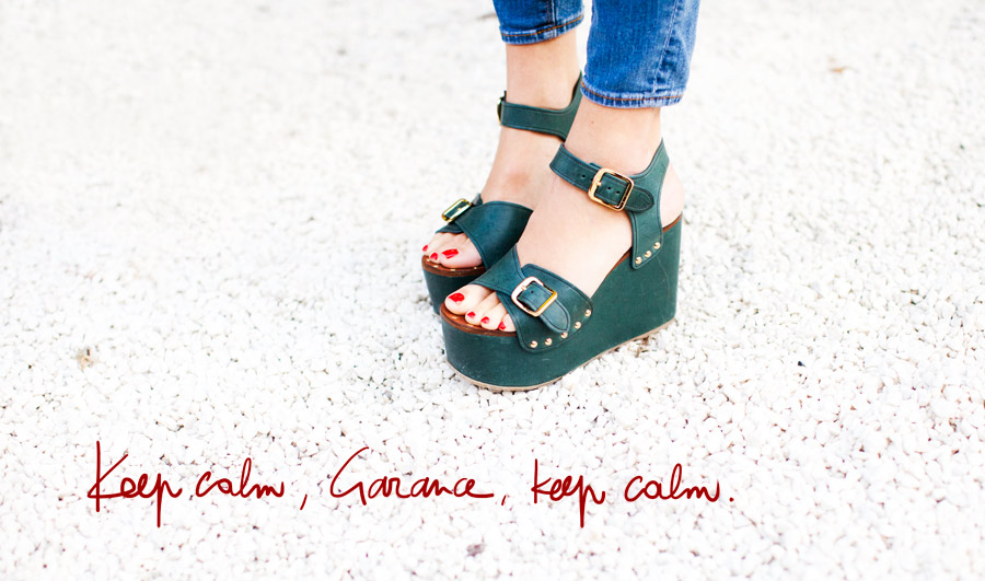 Celine Shoes Photographed by Garance Dore
