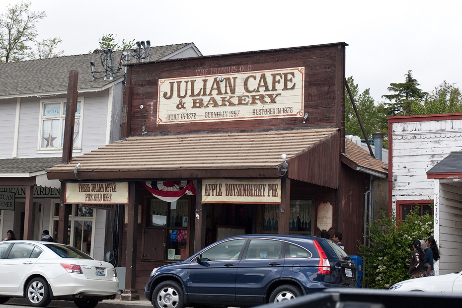 Ellingsen Photography Julian Cafe and Bakery Exterior