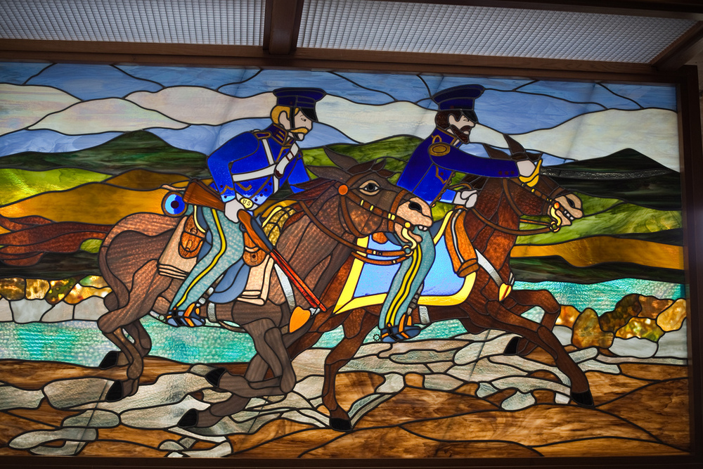 Ellingsen Photography San Pasqual Battlefield State Historic Park California Stained Glass
