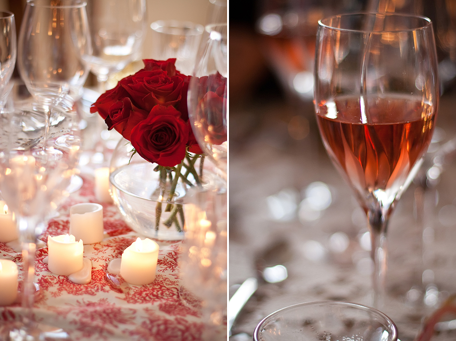 Ellingsen Photography Rose Colored Glasses Dinner Party-Table Setting