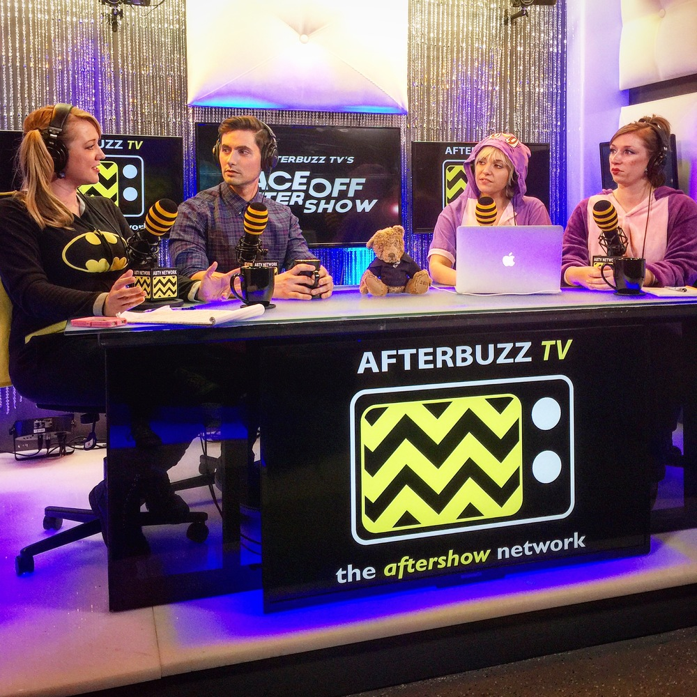 AfterBuzz TV FaceOff After Show with Host Alana Jordan