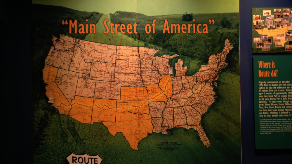 Route 66 goes right through all of the towns we have known our entire lives!