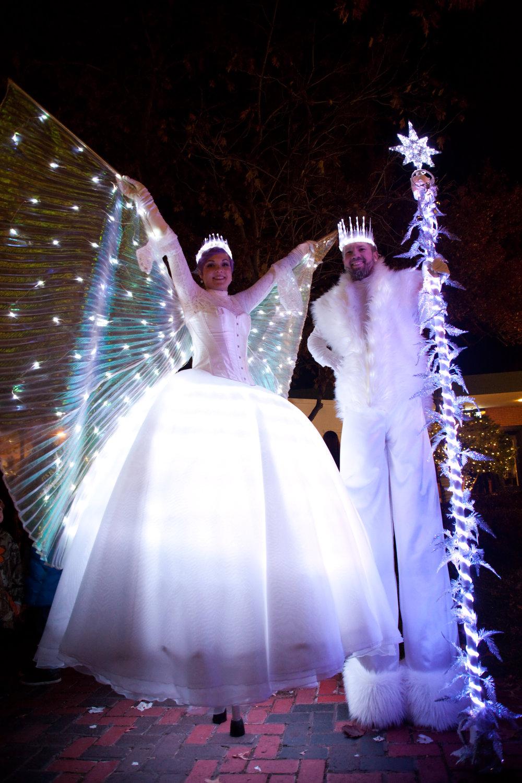 Inspyral Snow King & Queen