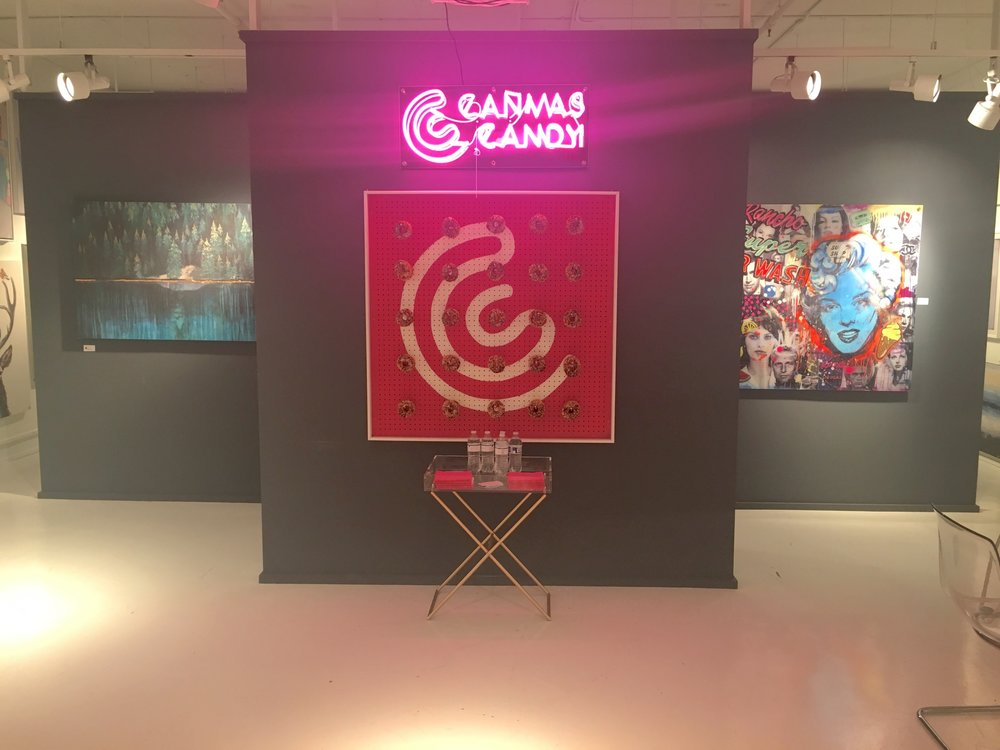 Canvas Candy Showroom