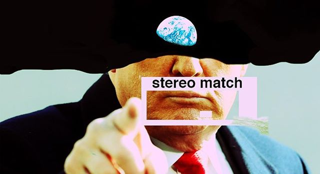 Stereo match  is a lie,  obsessed with fame and recognition.  It's an event no one should attend like Shamu at Sea World,  splashing around in slavery.  It is fake  so close your eyes.
