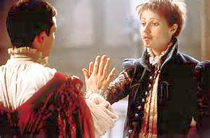 Rakish Charm...Gwyneth Paltrow showing that all you need is a cod-piece, a false beard, firm handshake and you've made it. You're an actor in Shakey times!   Shakespeare In Love  , 1999