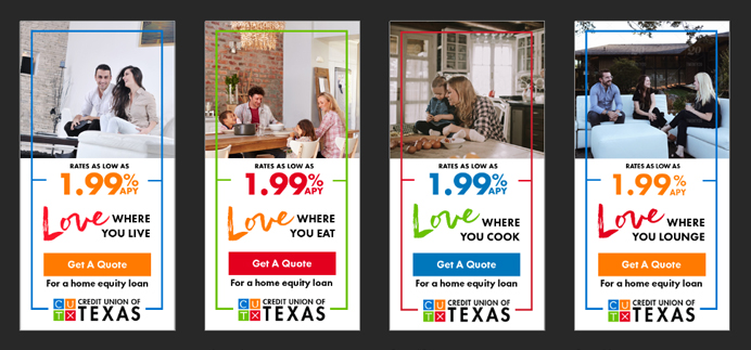 Credit Union of Texas Ads