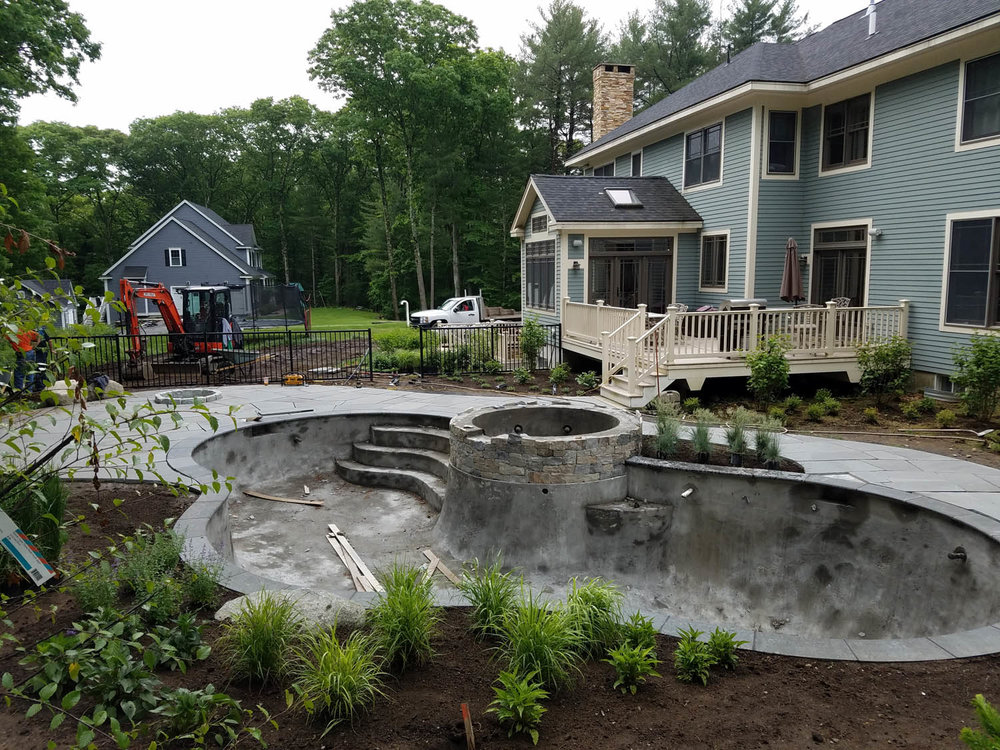 New Pool and Landscape