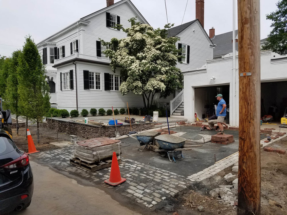 Historic Property Landscape Improvements