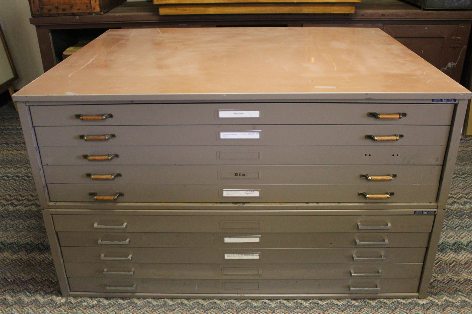 Charmant Industrial Architect/Engineeru0027s File Cabinet