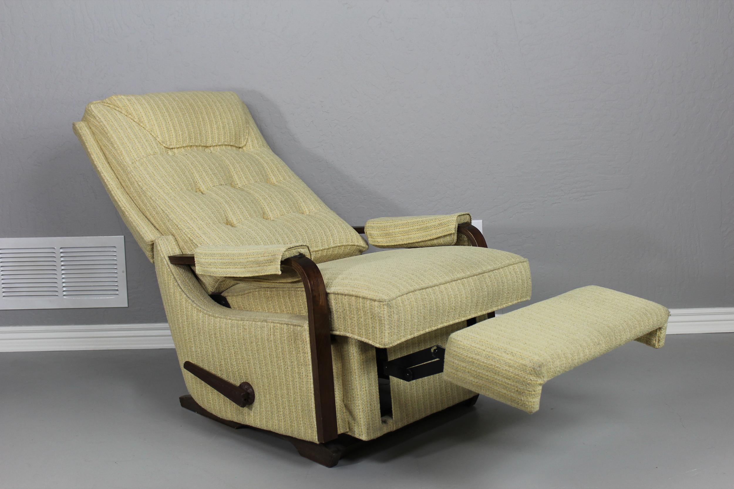 & Vintage La-Z-Boy Recliner u2014 Mid Century Modern Unique islam-shia.org