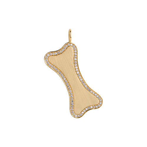 ab656828af0aaa bridget king small diamond dog bone pendant ...