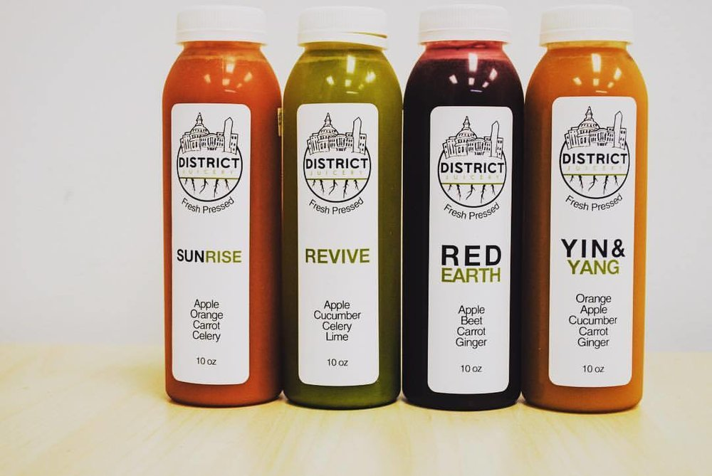 100% Cold Pressed - 100% Organic Produce