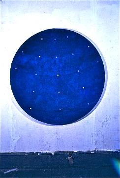 Starry Night Tondo