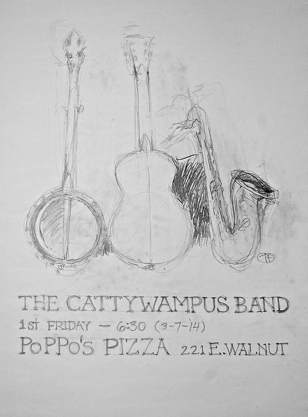 Cattywampus Band poster