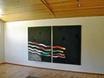 Hawkins/Marquette Gallery, solo exhibition 2006, Topanga, CA
