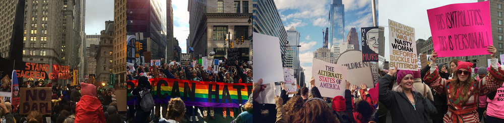 images are not by me- they are by friends on Instagram at various rallies on the East Coast.
