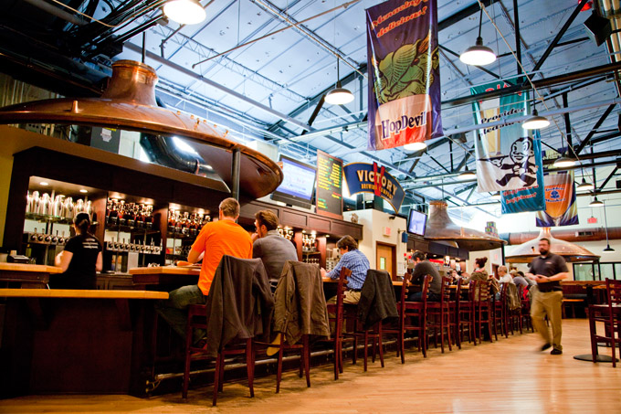 photo of the Downingtown location, courtesy of victorybeer.com