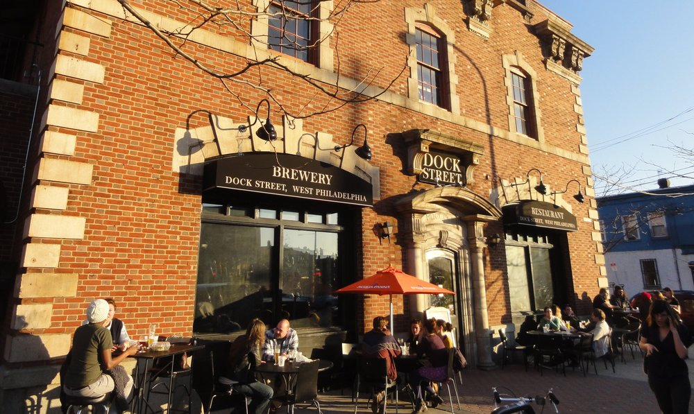 outside of the brewpub on a beautiful day! photo courtesy of brewstravelers365.com