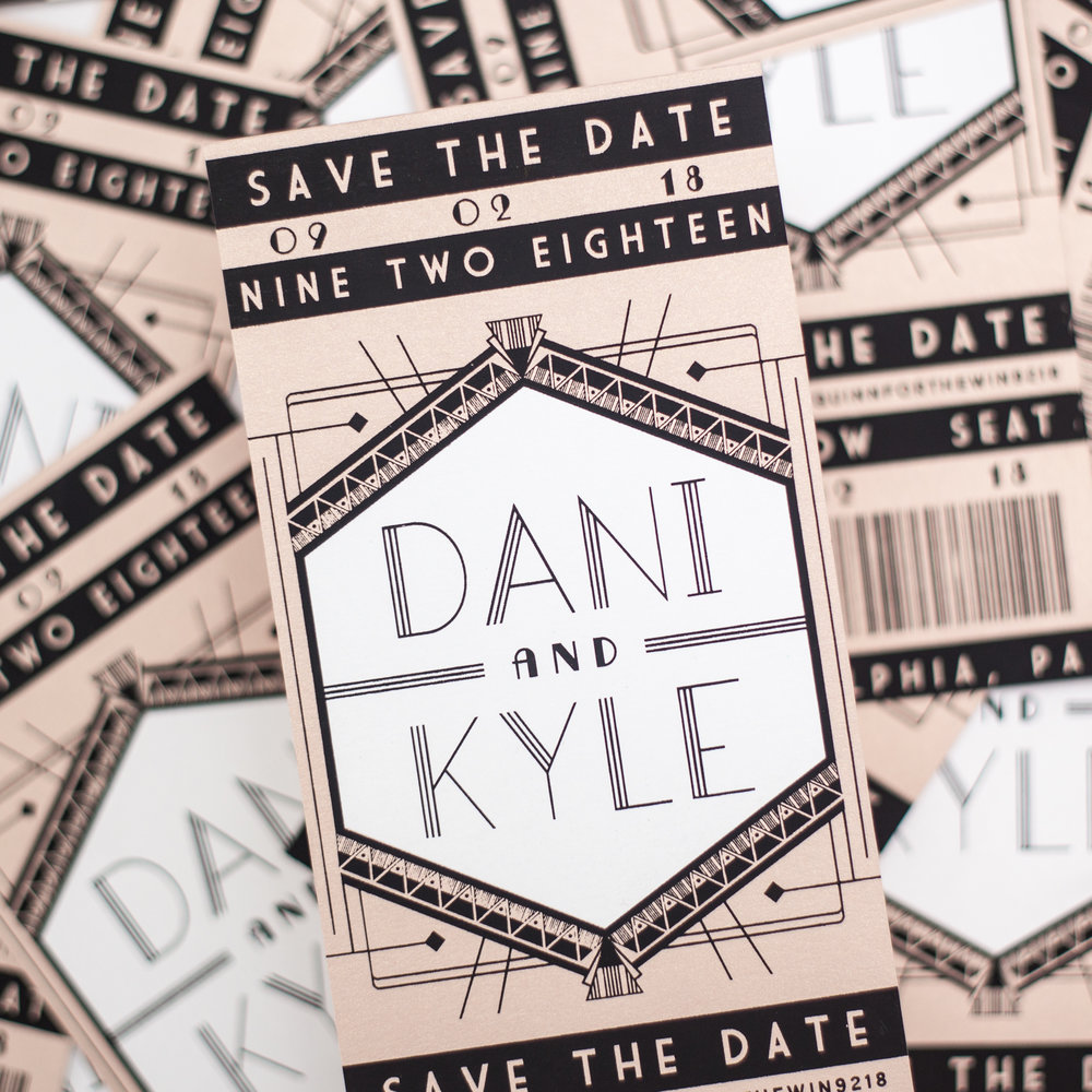 Kyle + Dani's save-the-date, 2018.