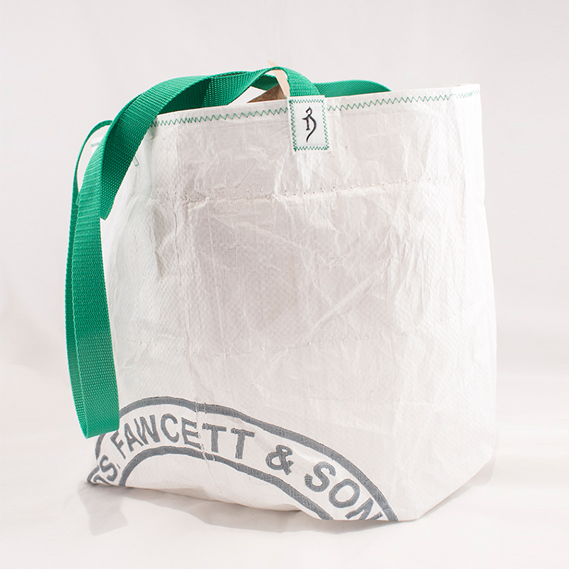 upcycled tote by The Alchemist