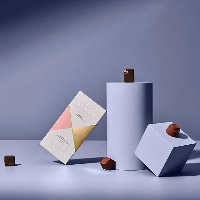 New work with @studio_round for @kokoblackchocolate x @chefdanhunter collaboration. Taking chocolate to the next level! 👌🏻🙌🏻