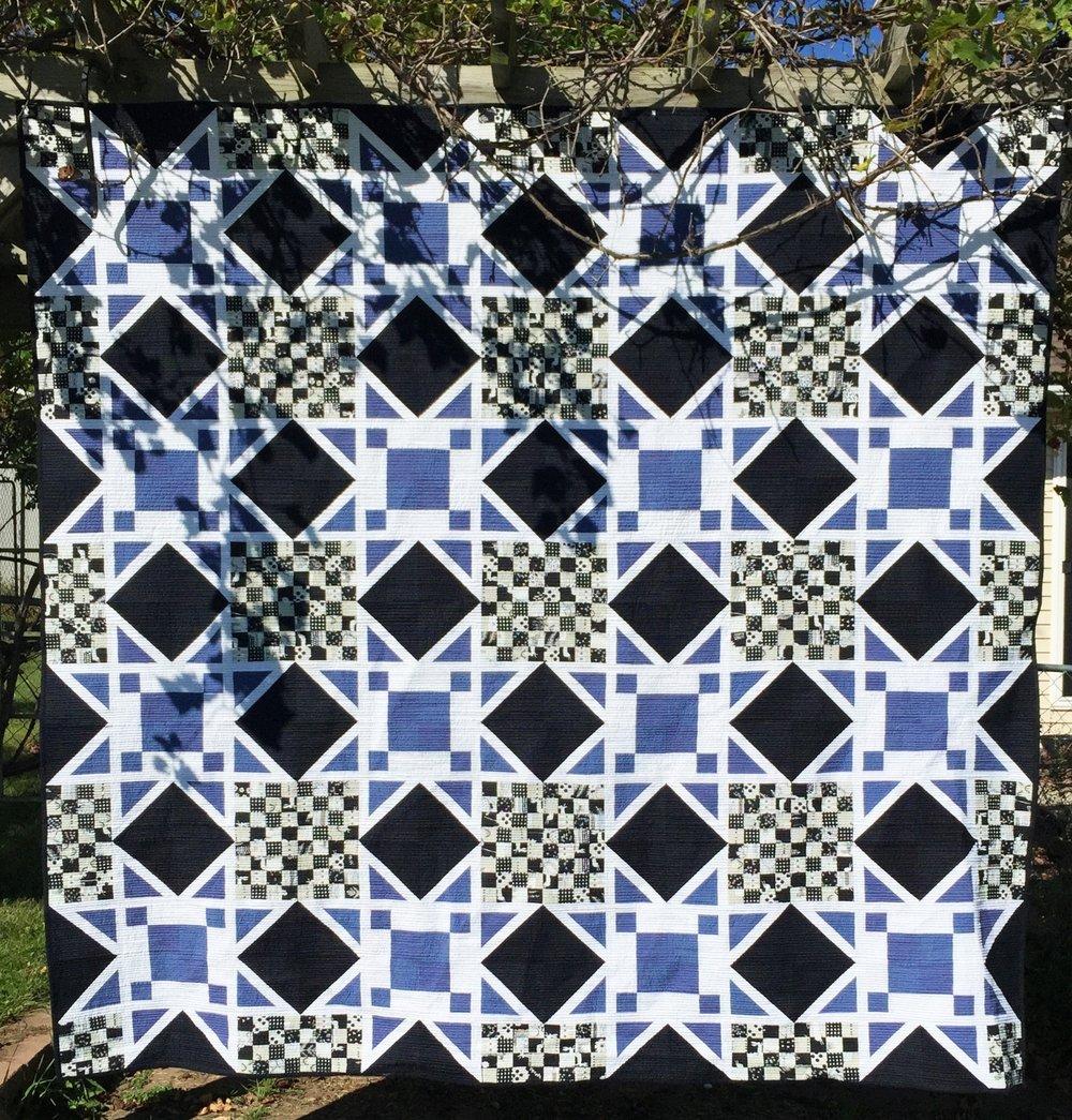 Star Sighting pattern — threaded quilting studio