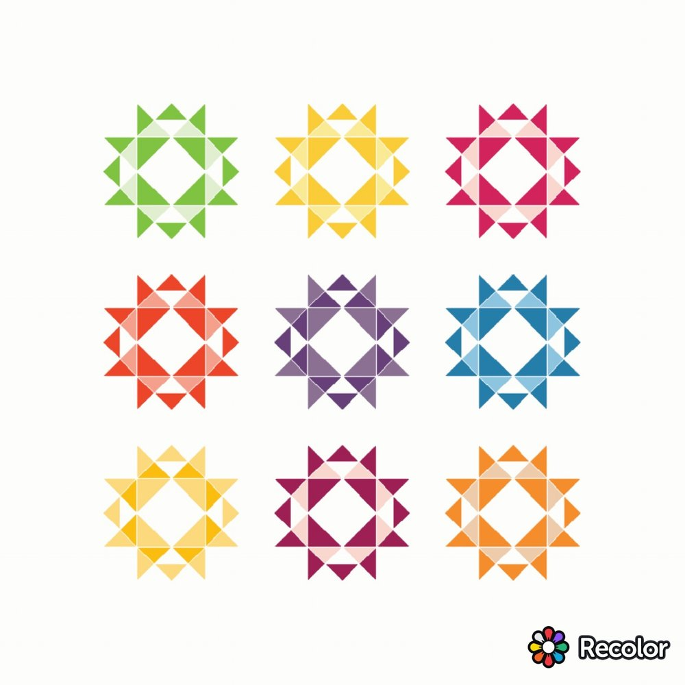 Brighten the Corners quilt pattern.