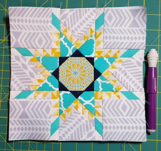 Feathered Star Qal Week Six Threaded Quilting Studio