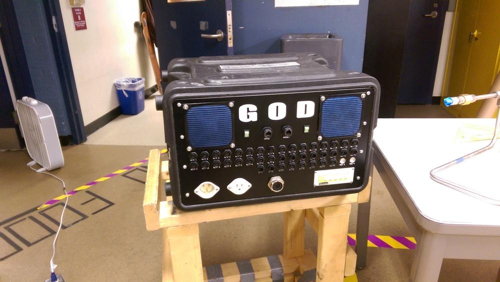 GOD Box 2 front panel