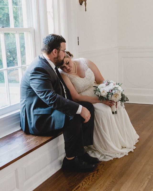 Now that I've recovered our photography instagram / delivered this amazing wedding album, we can officially begin posting again 😍 this is one of many awesome moments captured at @caseykeebler and Nathan's wedding, they are adorable!