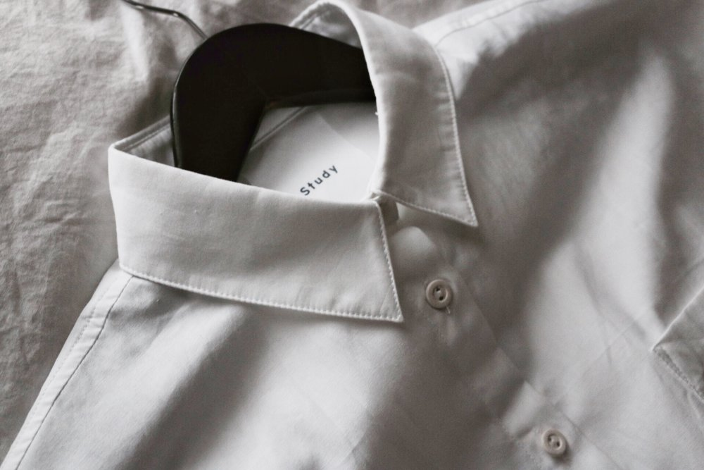Shirt 1.5 in White by Study NY