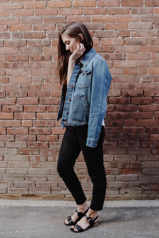 Skinny Yoga Jeans (Black) -  Yoga Jeans