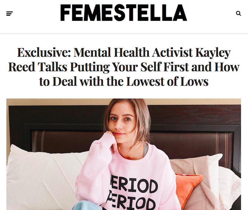 Exclusive feature with Femestella