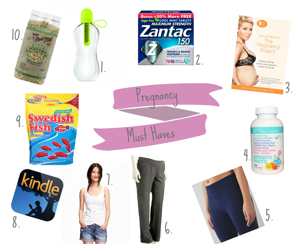 Pregnancy Must Haves @ formerlyknownasemj.com