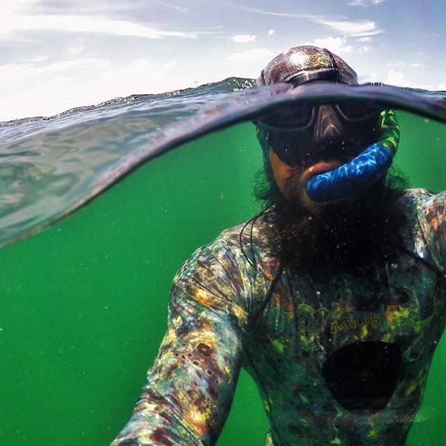 """Our latest unsolicited testimonial comes from Ivan Trent, son of Buzzy Trent, former SEAL Team 6 member, SEAL Trainer, and member of the """"Makaha Screamers"""". """"I am Truly Grateful for Your Product. 2 months ago while free-diving the Fl Keys, a Sizable Bull Shark approached me from below rather deliberately (to say the least). As I maintained a slow hovering kick he veered off right about about 2-3 yards from my left fin (Where I placed my sharkbanz on my ankle) and swiftly darted away. I am VERY GRATEFUL and Want to say, THANK YOU! Life saving Product."""" Needless to say, Ivan's not scared of much, but he understands the benefits of tools that reduce the risk of harm. #reducetherisk #frogmen #makaha #waimea #humbled"""