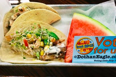 Bonus Gulf Red Snapper Tacos From One Of My Favorite Restaurants Kbc Butcher Block In Dothan Al