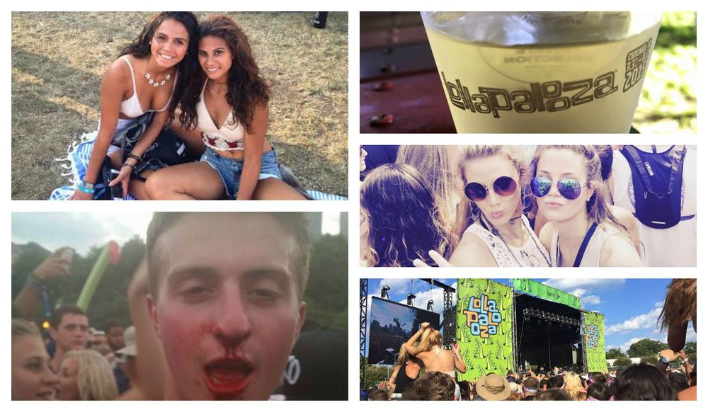 The Lollapalooza Experience   The Students' Tribune On Location   Raw Footage, Journal, and So Much More