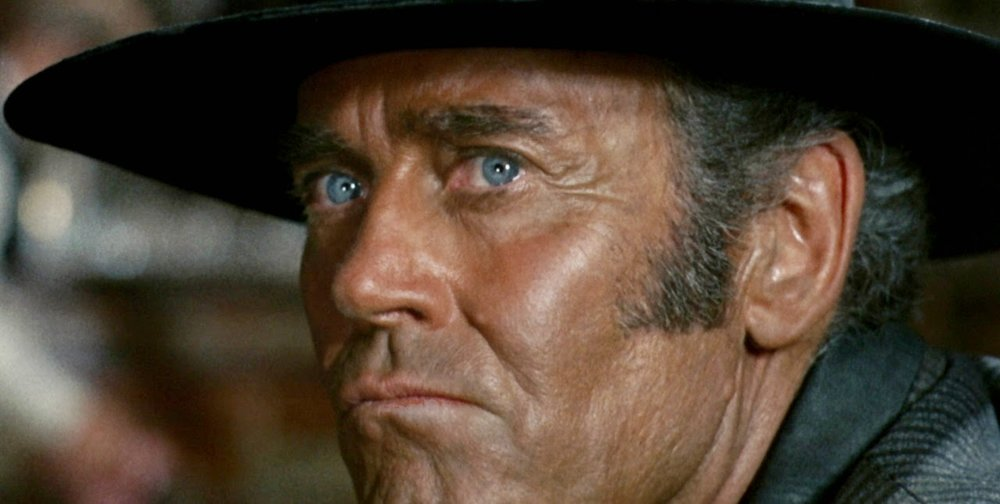 """How can you trust a man who wears both a belt and suspenders? The man can't even trust his own pants."" - Henry Fonda in  Once Upon A Time In The West,  which I rewatched last night."