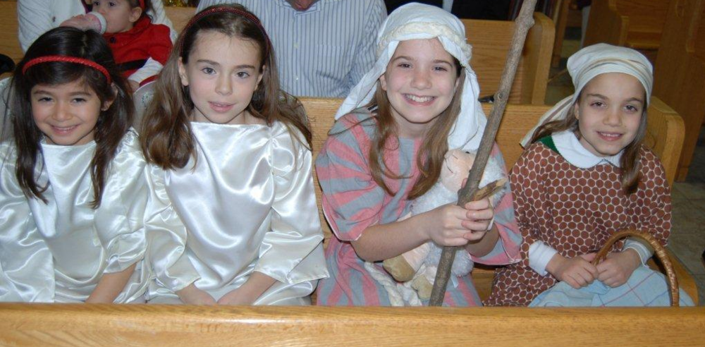 Christmas Pageant 2014 - Angels and Shephards