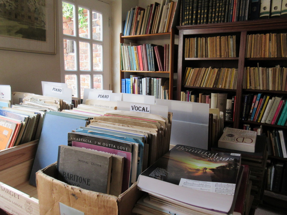 Philip Martin Music Secondhand Books York Stone Trough Books .JPG