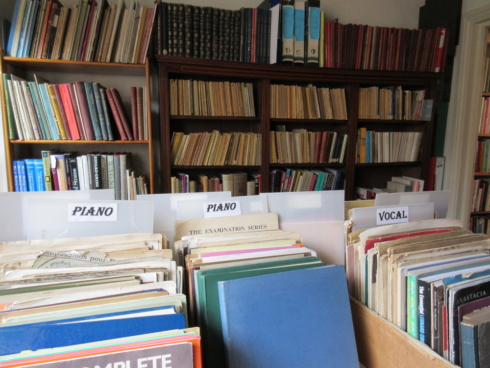 Philip Martin Music Books York Secondhand Stone Trough Books.JPG
